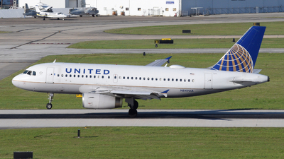 N849UA - Airbus A319-131 - United Airlines