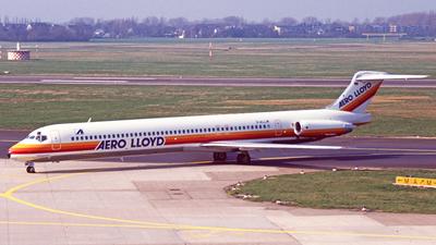 D-ALLM - McDonnell Douglas MD-83 - Aero Lloyd
