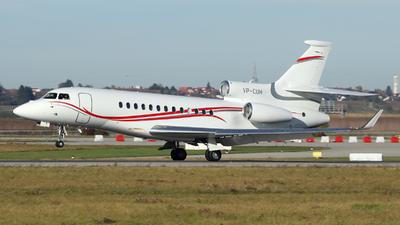 VP-CUH - Dassault Falcon 7X - VW Air Services