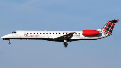 G-SAJO - Embraer ERJ-145MP - Loganair