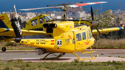 A picture of ECNBQ - Bell 212HP - [30801] - © RobertLN