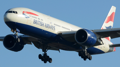 G-VIIG - Boeing 777-236(ER) - British Airways