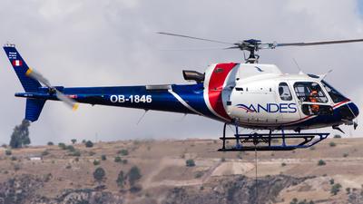 OB-1846 - Eurocopter AS 350B3 Ecureuil - Servicios Aéreos de los Andes