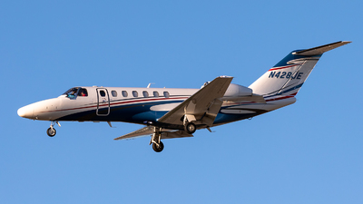 N428JE - Cessna 525 Citationjet CJ3 - Private