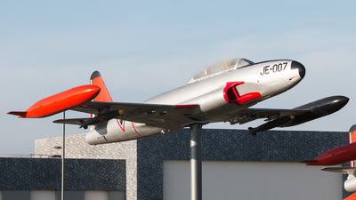JE-007 - Lockheed T-33A Shooting Star - Mexico - Air Force