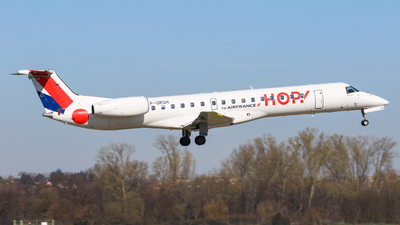 F-GRGH - Embraer ERJ-145EU - HOP! for Air France