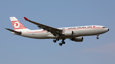 A picture of TCJNC - Airbus A330203 - Turkish Airlines - © Hanjo Schrenk