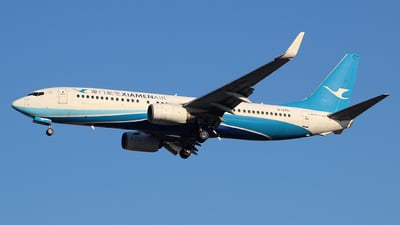 A picture of B5751 - Boeing 73785C - Xiamen Air - © wangruoyao