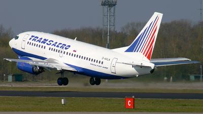 D-AHLN - Boeing 737-5K5 - Transaero Airlines