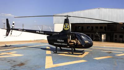 PR-SIX - Robinson R66 Turbine - Brazil - Military Police