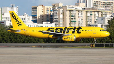 A picture of N603NK - Airbus A320232 - Spirit Airlines - © Angel Natal