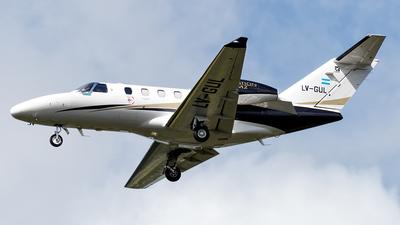 A picture of LVGUL - Cessna 525 Citation M2 - [5250935] - © Flavio García Photos