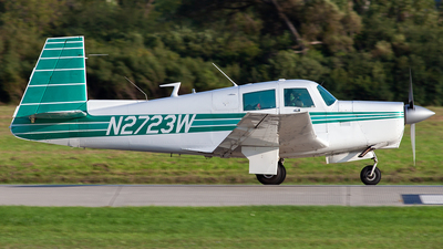 N2723W - Mooney M20C - Private