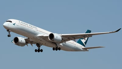 B-LRI - Airbus A350-941 - Cathay Pacific Airways