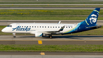 A picture of N629QX - Embraer E175LR - Alaska Airlines - © global_flyer1