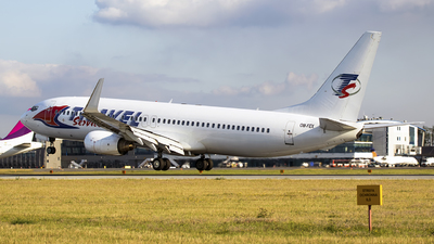 OM-FEX - Boeing 737-8Q8 - Travel Service