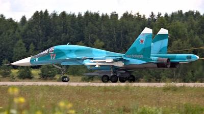 RF-95845 - Sukhoi Su-34 Fullback - Russia - Air Force