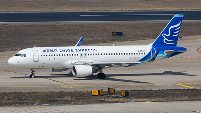 A picture of B30AY - Airbus A320214 - China Express Airlines - © Xuanting Wang