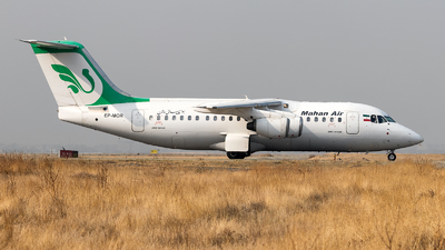 A picture of EPMOR - Avro RJ85 - Mahan Air - © DARA ZARBAF