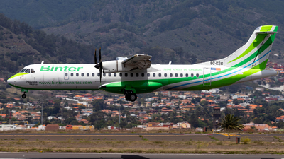 A picture of ECKSG - ATR 72500 - Binter Canarias - © Jan H