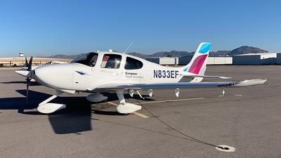 N833EF - Cirrus SR20-G6 - Lufthansa Aviation Training