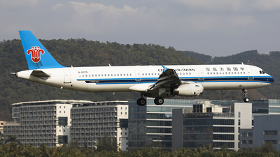 A picture of B6379 - Airbus A321231 - China Southern Airlines - © Luo Chun Hui
