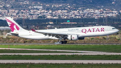 A picture of A7AED - Airbus A330302 - Qatar Airways - © Kostas Marmarelis