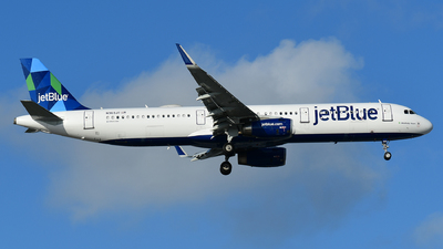 A picture of N969JT - Airbus A321231 - JetBlue Airways - © Jorge Rivas