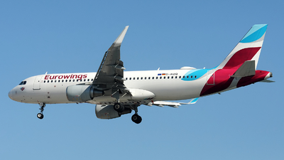 A picture of DAIZQ - Airbus A320214 - Eurowings - © Alexander Portas