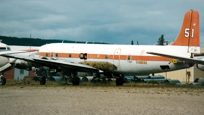 N999SQ - Douglas DC-6B - Everts Air Fuel