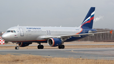 A picture of VQBEH - Airbus A320214 - Aeroflot - © Pavel Andreevich