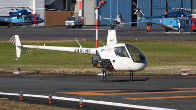 JA21NF - Robinson R22 Beta II - Nihon Flight Safety