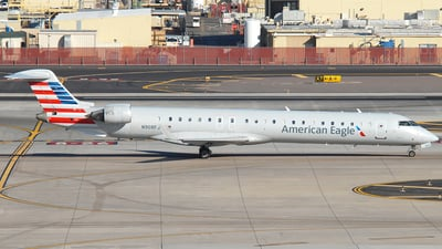 A picture of N908FJ - Mitsubishi CRJ900ER - American Airlines - © Jason Whitebird