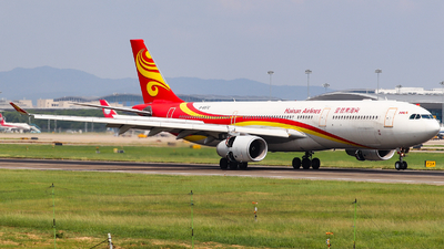 A picture of B5972 - Airbus A330343 - Hainan Airlines - © AGUIJUN-Lei
