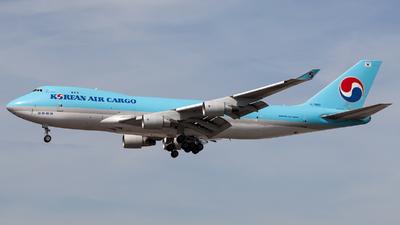 HL7600 - Boeing 747-4B5ERF - Korean Air Cargo
