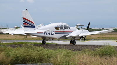 XB-FZP - Piper PA-23-250 Aztec - Private