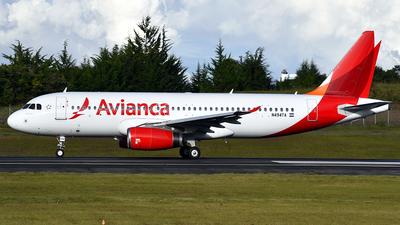 N494TA - Airbus A320-233 - Avianca Central America
