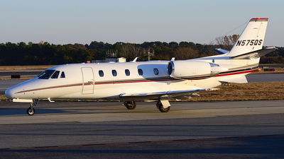 N575QS - Cessna 560XL Citation XLS - NetJets Aviation