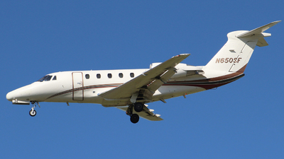 N650SF - Cessna 650 Citation III - Private