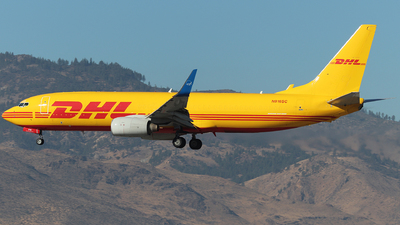 N916SC - Boeing 737-86J - DHL (Swift Air)