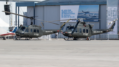 H-57 - Bell 412EP - Chile - Air Force