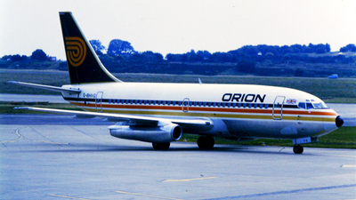 G-BHVG - Boeing 737-2T5(Adv) - Orion Airways