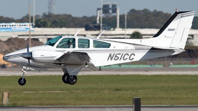 N51CC - Beechcraft 95-B55 Baron - Private