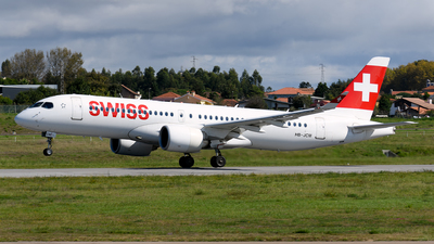 A picture of HBJCM - Airbus A220300 - Swiss - © Rui Marques
