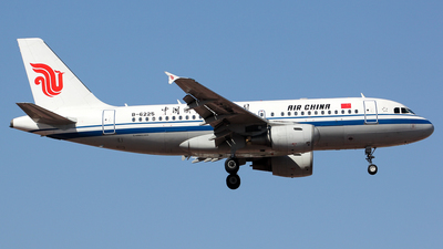 A picture of B6225 - Airbus A319115 - Air China - © Wanping Chen