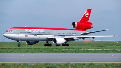 N158US - McDonnell Douglas DC-10-40 - Northwest Airlines