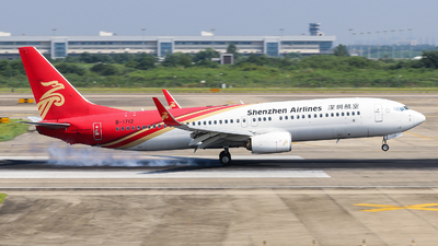 A picture of B1712 - Boeing 73787L - Shenzhen Airlines - © Jerry.H