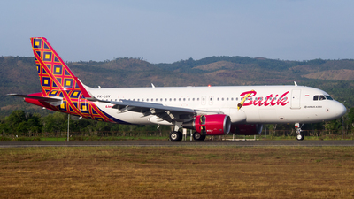 PK-LUV - Airbus A320-214 - Batik Air