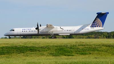 N213WQ - Bombardier Dash 8-Q402 - United Express (Republic Airlines)