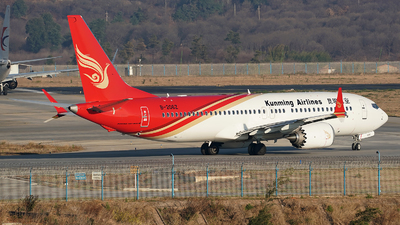 B-206Z - Boeing 737-8 MAX - Kunming Airlines